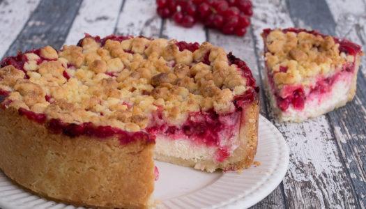 Johannisbeere-Streusel-Kuchen Rezept
