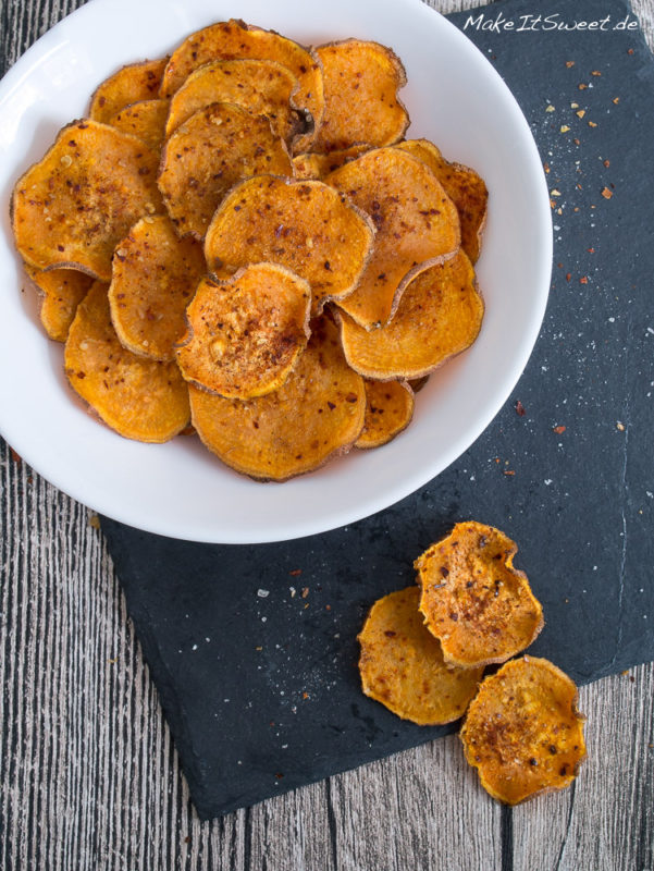 Suesskartoffelchips Kartoffel Chips Rezept