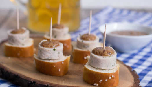 Weißwurst Häppchen zum Oktoberfest Rezept