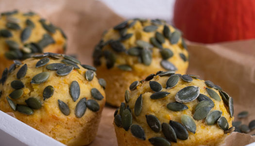 Süßes Kürbis Muffins mit Zimt Rezept