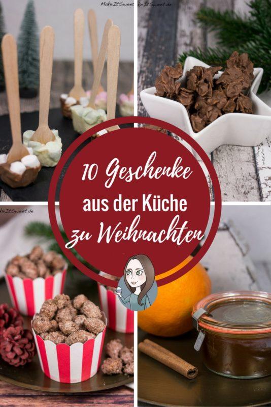 10 Geschenke aus der Küche zu Weihnachten - MakeItSweet.de