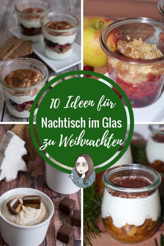 10 Ideen Fur Nachtisch Im Glas Zu Weihnachten Makeitsweet De