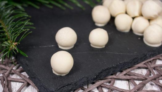 Schokoladen-Marzipankugeln Rezept