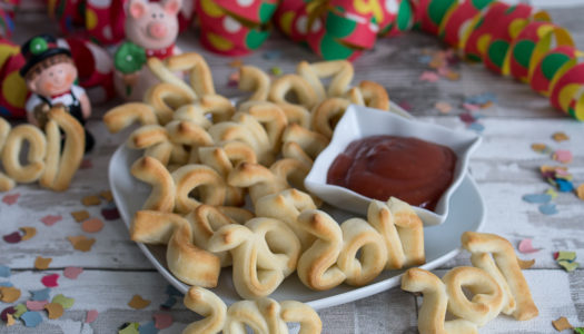 Silvester 2017 Sticks Snack Rezept