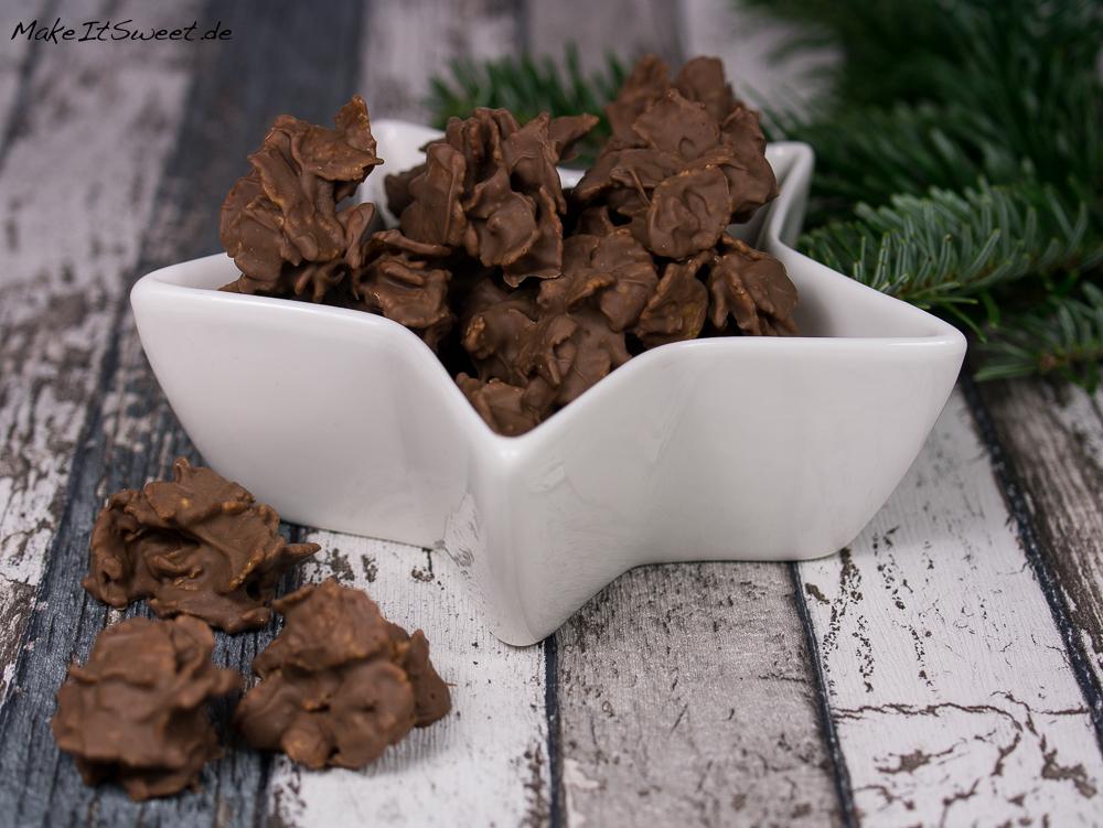 spekulatius schoko cornflakes plaetzchen rezept schnell und einfach. Black Bedroom Furniture Sets. Home Design Ideas