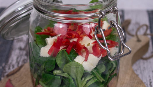 Thunfisch-Mozzarella-Salat im Glas Rezept