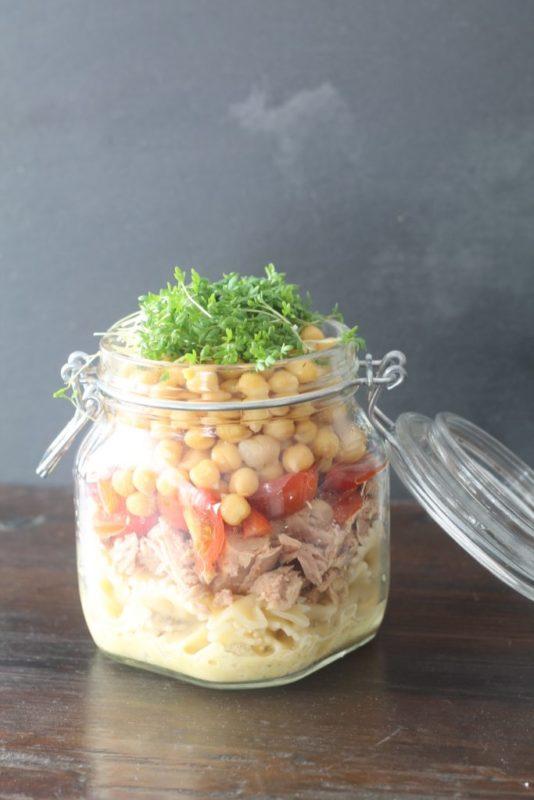 blogparade meinwunderbareschaos Kichererbsen-Nudelsalat mit Thunfisch rezept