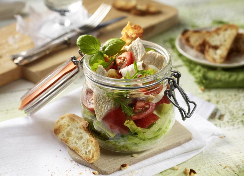 blogparade welove.deutsches-gefluegel haehnchen salat im glas rezept