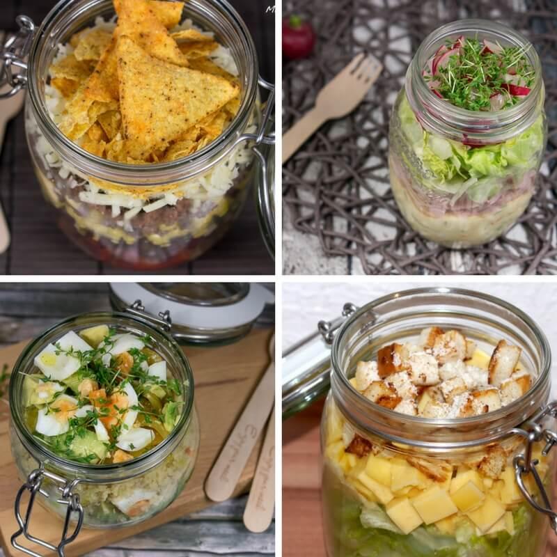 13 rezepte f r salat im glas. Black Bedroom Furniture Sets. Home Design Ideas