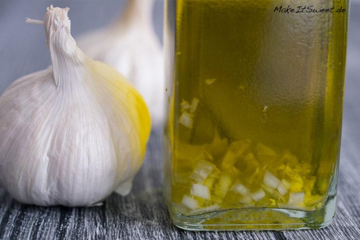 Knoblauchoel Rezept selbermachen Kochen zubereiten schnell und einfach