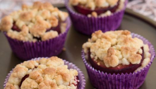Pflaumen-Streusel-Muffins Rezept