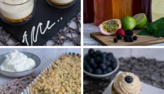 3 Rezepte mit Spitz Sirup – Tarte, Muffins und Dessert {Werbung}