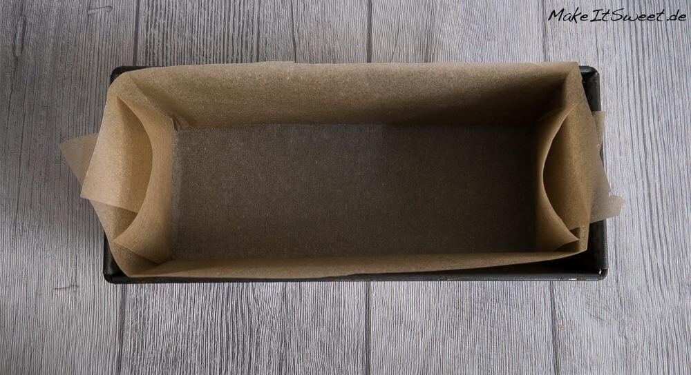 Tipp Backpapier Kastenform Backform auslegen-5