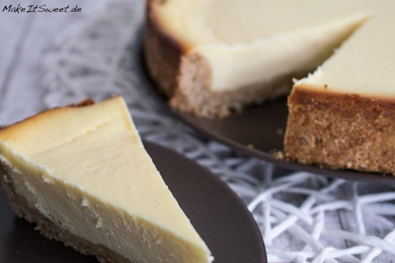 New York Cheesecake Kuchen Rezept Geburtstagskuchen