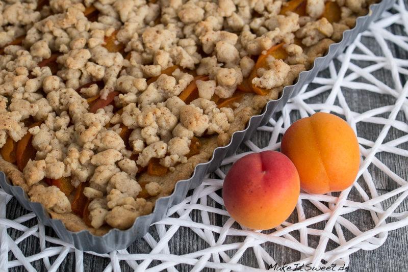 Aprikosentarte mit Streuseln Zimt Rezept
