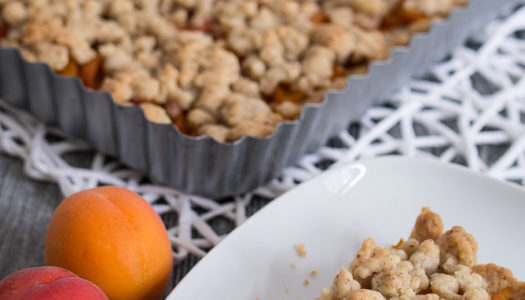 Aprikosen Tarte mit Streuseln Rezept