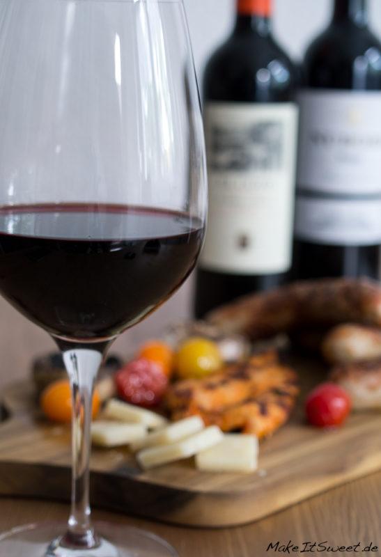 Rioja fuer Weingeniesser Grillen Rotwein DOCa