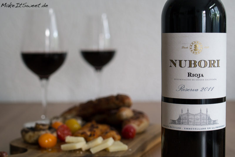 Rioja fuer Weingeniesser Grillen Weingenuss DOCa