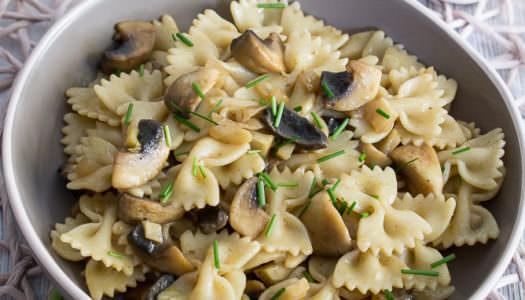 Nudelsalat mit Champignons und Fenchel Rezept