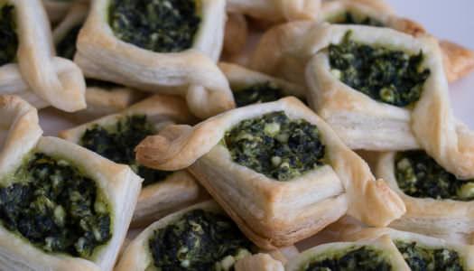Mini Spinat-Feta-Schiffchen Rezept