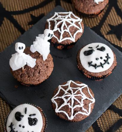 Halloween - Halloween muffins dekorieren ...